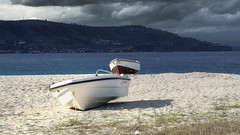 Boats on the beach (Francesco Grisolia) Tags: boatsonthebeach boats beach barchesullaspiaggia barche spiaggia barca boat colors aprile april 2016 calabria italia italy spring primavera clouds nuvole mare sea natura nature colori highquality highdefinition nikon 2470mm lens travel beautiful foto photo flickr art sabbia d7100 nikond7100 europe nikonclub nikonitalia nikonclubit nikonusa nikoneurope reflex landscape city urban paesaggio panorama iamnikon ngc