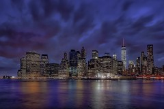 Purple rain (karinavera) Tags: nyc travel newyork storm brooklyn cityscape view purple cloudy manhattan stormyweather nikond5300