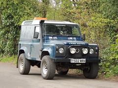 Land Rover Defender, Dixton Lane, Dixton, Monmouth 28 April 2016 (Cold War Warrior Follow Me on Ipernity) Tags: monmouth landrover defender dixton