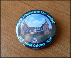 Gainsborough Beer Festival 2016 (tatrakoda) Tags: england beer festival ale lincolnshire badge camra realale gainsborough oldhall dn21