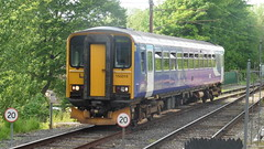 Northern Rail 153315 (North West Transport Photos) Tags: train lancaster 153 morcambe dmu northernrail class153 dieselmultipleunit 153315 2c78