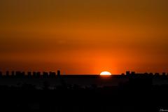 Relieve de un paraso (juliosabinagolf.) Tags: b sunset espaa nikon murcia amanecer cielo nikkor cartagena nube lamangadelmarmenor serenidad d3300 latierraunparaiso