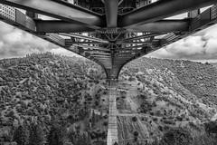 RHM_1650-1386-1387.jpg (RHMImages) Tags: california bridge trees blackandwhite bw monochrome landscape us nikon unitedstates under auburn historic foresthill d810