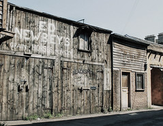 'Wild West' 7 (Yowell Art) Tags: wild west jail morningside edinburgh scotland hidden street
