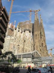 20150507 Barcelone Espagne - Sagrada Familia (anhndee) Tags: barcelona church architecture spain cathedral cathdrale gaudi catalunya espagne glise eglise barcelone cathedrale catalogne