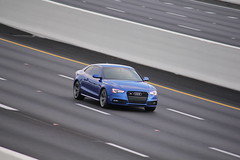 RS-5 (Joe Folino ( LoopRunner )) Tags: blue cars car 5 audi panning rs rs5