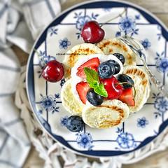 Baked Cottage Cheese Pancakes (AlenaKogotkova) Tags: food breakfast healthy pancake foodphoto cottagecheese healthyeating foodstyling cottagecheesepancakes