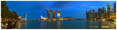 Blue Hour @ Singapore Marina Bay_Panorama (wsboon) Tags: city travel cruise light sky panorama holiday color tourism water architecture clouds composition buildings relax corporate design photo google search singapore asia exposure cityscape view nocturnal skyscrapers heart perspective visit tourist calm explore photograph land destination serene cbd bluehour pimp nocturne dri singapura centralbusinessdistrict blending singaporecityscape masteratwork uniquelysingapore singaporecity peopleculture olympusdigitalcamera singaporecruise singaporelandscape singaporemarinabay singaporetouristattractions lumixgvario14140f4058 olympusep5 nocommentsimplyperfectsingaporeview singaporefamouslandmarks