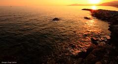 The ligurian coast (Crupi Giorgio (official)) Tags: italia liguria lavagna mare cielo sole scogliera costa panorama tramonto calma canon canoneos7d sigma sigma1020 sea sky sun coast reef seascape sunset landscape calm relax