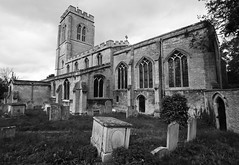 St Guthlac's Market Deeping Lincolnshire England (David Russell UK) Tags: old england building church saint st stone century one 1 market gothic 15 grade norman lincolnshire years arcitecture 800 15th listed 1400 deeping deepings guthlac guthlacs