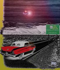 UFOS Have The Right-A-Way (Pesky Design) Tags: ufo extraterrestrials strange desert historytravel mountains buick night photoshop nikon rural skies sciencefiction fun art digitalartrealism digitalart