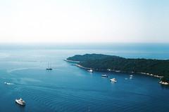 Dubrovnik_adriaticsea (alekspaunic) Tags: nature canon boats island view infinity horizon croatia canona1 dubrovnik analogphotography adriaticsea naturelovers filmphotography shadesofblue