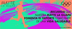 Celebramos el Da Olmpico (MayteLaGuapa) Tags: olimpico reina like blog actitud artista cantante musica latina colores salud deporte
