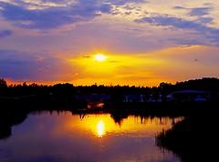 Sunset (portalealba) Tags: sunset espaa spain agua pentax zaragoza aragon ebro 1001nights k50 zaragozaparque