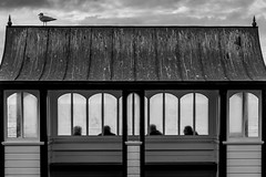 (evans.photo) Tags: summer people abstract gull shapes aberystwyth prom shelter ceredigion