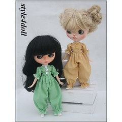 style4doll overalls for Blythe-