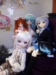 Young family! (Ushi de Bray) Tags: colin angel doll dream mini honey coco clockwork dollfie luts delf 2d mayu mdd tamano obitsu ddh01