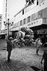 Olhe pra frente... levante a cabea. (marcoscampos) Tags: floripa florianpolis pb bw largo alfndega balo ambulante street rua fotonarua mercado centro canon