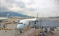Chek Lap Kok 16 - 8 (lemoncat1) Tags: cathaypacific hongkong internationalairport cheklapkok airport ethiopian singaporeairlines aircraft plane airplane aeroplane airliner airportgate jetbridge airbus a320 a321 a380 boeing 787 dreamliner 777 a350xwb xwb