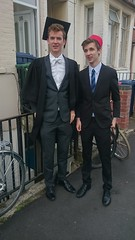 DSC_0407 (Mark Fielding) Tags: freddie graduation mansfield oxford university fez lachie