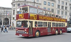 D938 G938FVX (PD3.) Tags: uk england bus london buses big tour dragon open d top sightseeing seeing topless sight dennis condor topper psv pcv tourbus bigbus 938 duple metsec d938 g938fvx fvx g938
