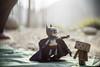 水漾森林 (丘牙隹) Tags: taiwan batman 阿里山 嘉義 露營 登山 柳杉 堰塞湖 水漾森林 阿愣 紙箱人 超合金蝙蝠俠