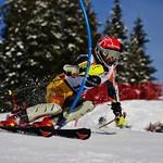 BC Team's Dominic Unterberger - 2nd at Mt. Norquay SL PHOTO CREDIT: Derek Trussler