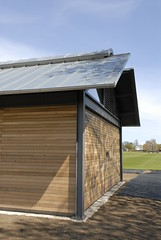 Completed hockey pavilion
