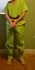DSC_2686c (bob.laly) Tags: uniform chain jail shackles padlock handcuffs prisoner jumpsuit inmate