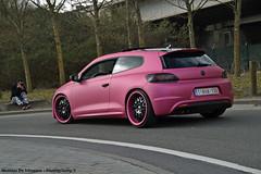 VW Scirocco Tuned (Mathias De Schepper Photography) Tags: pink vw volkswagen nikon how tuning vag scirocco tuned d3100 2k15 mathiasdeschepperphotography heavenonwheels2015