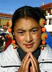 Tibetan girl (sonamsonam808) Tags: tibetangirl tibetanpeople humanrightsfortibetans