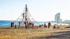 Barceloneta (Magerson) Tags: barcelona city trip cidade urban espaa praia beach spain espanha europa europe frias barceloneta catalunya catalua catalunha