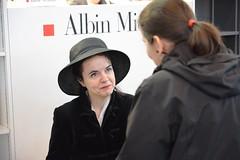 Amélie Nothomb au Salon du Livre 2015