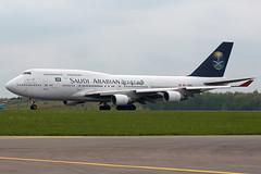 EC-KXN (Thomas Theisen) Tags: airport spain crash anal saudi boeing arabian luxembourg takeoff 747400 findel