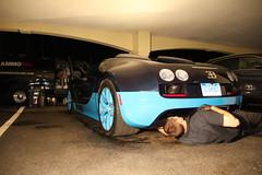Bugatti Veyron Midnight Detail