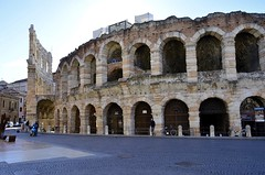 Amphitheater - Verona (niranjan_g10) Tags: italy building beautiful architecture verona amphitheater