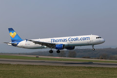 Photo of G-DHJH Airbus A.321-211, Thomas Cook, Bristol Lulsgate