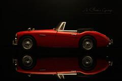 1961 Austin Healey 3000 MK-III (aJ Leong) Tags: 1961 austin healey 3000 mkiii 118 kyosho