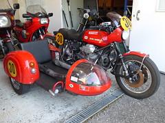 Moto Guzzi Wettbewerbsgespann (urs_witschi) Tags: rally moto motoguzzi motorsport guzzi wetbewerb beiwagen gespann 20150424