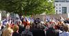 Cérémonie pour le soixante-dixième anniversaire de l'assassinat des vingt otages du Vercors, Cours Berriat, Grenoble (Isère, France) (Denis Trente-Huittessan) Tags: ww2 vercors résistance commémoration mortpourlafrance souvenirfrançais résistants août1944 14août1944 fusillésparlesallemands 14août2014 honorerlesmorts