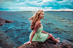 Anna (www.top-km.com) Tags: blue light sea sky cloud white storm color nature water girl by clouds canon relax grey eyes colorful shoot order view sweden picture follow international retouch km 6d