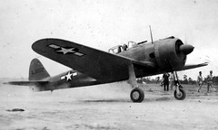 Nakajima Ki-43 Hayabusa fighter captured by American forces.