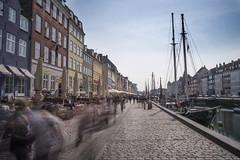 Nyhavn (the underlord) Tags: longexposure copenhagen denmark canal tour scandinavia kbenhavn pleasureboat 10stopnd