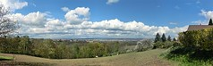Dresden - View from Gombsen (South), Panorama (Andr-DD) Tags: horses panorama horse nature clouds germany deutschland dresden saxony natur wolken sachsen pferde pferd gombsen