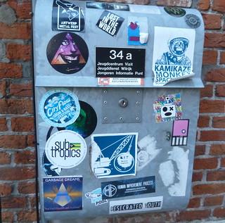 Graffiti Antwerp De Kern