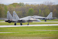 IAF SU-30s (galenburrows) Tags: flying fighter aircraft aviation flight jet su30 trenton fighterjet indianairforce flanker