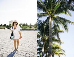 Vanessa + Miami (Jorge Quinteros) Tags: diptych miami lifestyle palmtrees wife 2016 sonya7ii