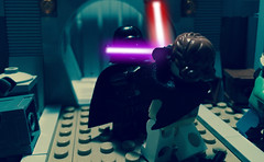 Darth Vader - Volume 1 - Heir to the Empire - Part 7 (Supremedalekdunn) Tags: light blackandwhite dark star palpatine lego mask side group lord story darth empire saber jedi anakin wars vader heir sith emperor skywalker sidious