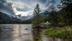 Ingeringsee (Wim Air) Tags: lake alps tree green clouds austria bernhard styria wimmer wimairat