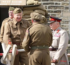 Haworth 1940's Weekend 2016 -  KV8A8926 (grab a shot) Tags: uk england people man canon vintage army eos war uniform outdoor military yorkshire wwii 1940s ww2 reenactment westyorkshire homefront worldwar2 oldfashioned haworth livinghistory 2016 homeguard warweekend brontecountry haworth1940sweekend 7dmarkii